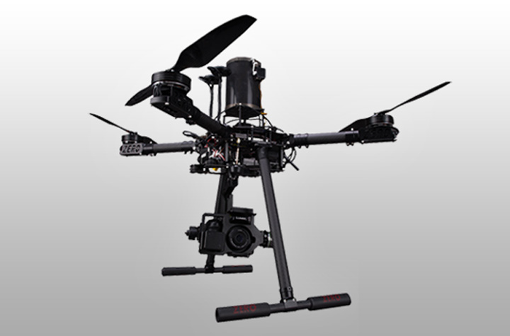 Droni  quadricotteri italdron 4HSE per ricerca e sviluppo in collaborazione con le università in sicilia