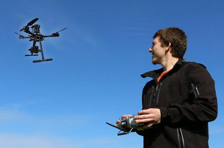 Heli-Lab scuola di volo per droni certificata ENAC in sicilia