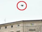 drone piazza bra verona, drone illegale, droni veneto, droni verona