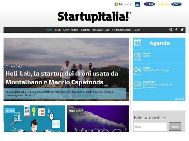 Startupitalia! 03/12/2015
