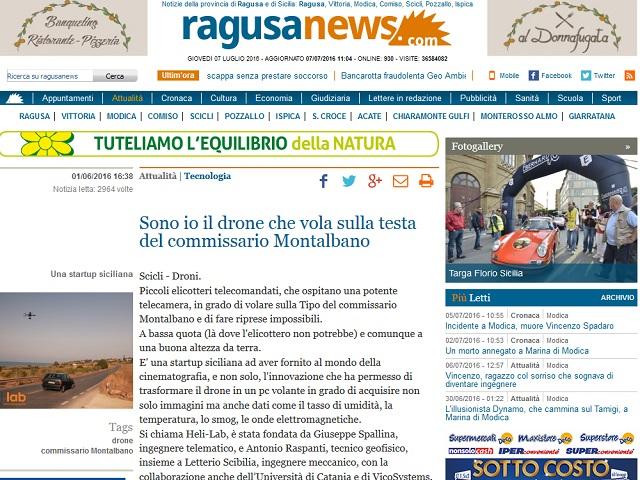 RagusaNews 01/06/2016