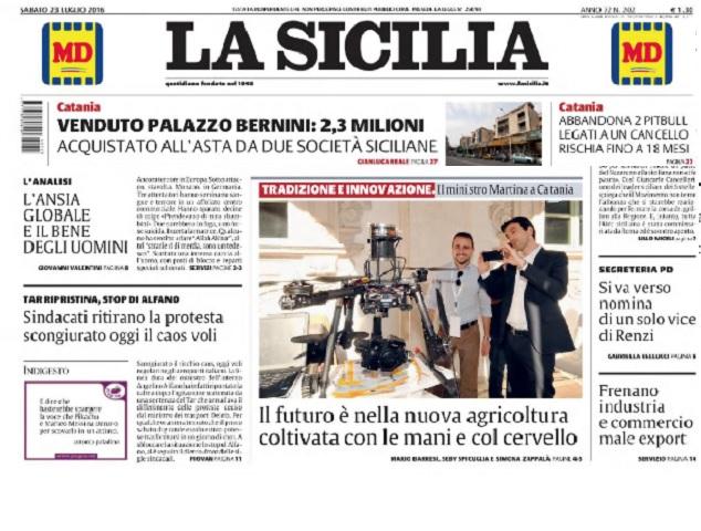La Sicilia 23/07/2016
